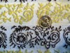 Retro Home Décor Fabric Scroll Design