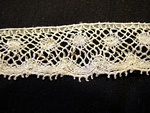 Vintage Machine Insertion Lace with Dots