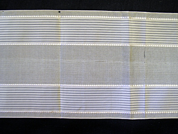 Antique Silk Ribbon with Pin Stripes