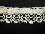 Vintage Lace Trim with Open Circles