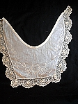 Vintage Hand Embroidered and Irish Lace Collar