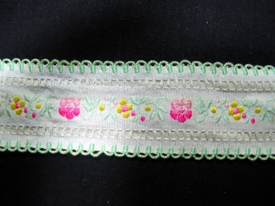 Vintage Trim with Embroidery