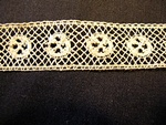 Vintage Valenciennes Insertion Lace with Wheels