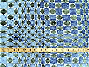 Vintage Home Decorative Fabric: Graphic in Velour