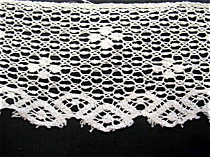 Vintage Filet Lace with Odd Mesh