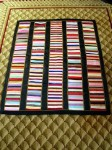 Antique Victorian Era Silk Quilt with Embroidery