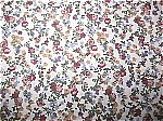 Silky Polyester Floral Fabric