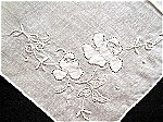 Antique & Vintage Appliqued Handkerchiefs