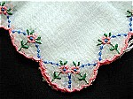 Antique & Vintage Embroidered Handkerchiefs