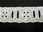 Vintage Eyelet Insertion Lace Trim