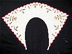 Vintage Arts and Crafts Hand Embroidered Collar