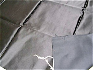 Antique Black Satin Fabric 25